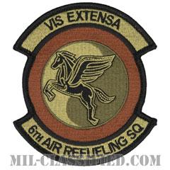 第6空中給油隊(6th Air Refueling Squadron)[OCP/メロウエッジ/ベルクロ付パッチ]の画像