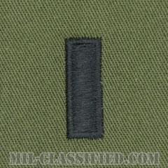 中尉(First Lieutenant (1LT))[サブデュード/階級章/パッチ/ペア(2枚1組)]画像