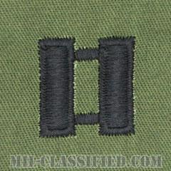 大尉(Captain (CPT))[サブデュード/階級章/パッチ/ペア(2枚1組)]画像