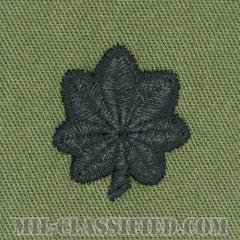 中佐(Lieutenant Colonel (LTC))[サブデュード/階級章/パッチ/ペア(2枚1組)]の画像