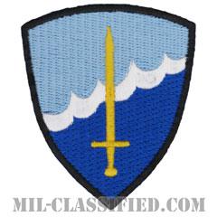 河川パトロール (クリアウォーター) ベレー章(LCPL, River Patrol Task Force Clearwater)[カラー/カットエッジ/パッチ/レプリカ]の画像
