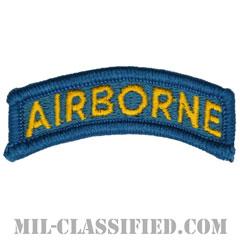 エアボーンタブ(ティールブルー&イエロー)(Airborne Tab)[カラー/メロウエッジ/パッチ]の画像