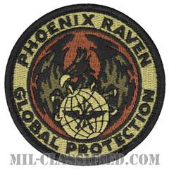 航空機動軍団フェニックスレイヴン治安部隊(Air Mobility Command's Phoenix Raven Security Force)[OCP/メロウエッジ/ベルクロ付パッチ]の画像