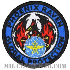 航空機動軍団フェニックスレイヴン治安部隊(Air Mobility Command's Phoenix Raven Security Force)[カラー/メロウエッジ/ベルクロ付パッチ]の画像
