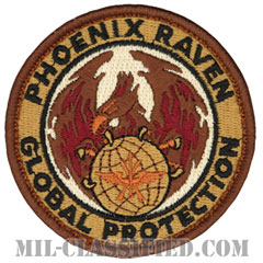 航空機動軍団フェニックスレイヴン治安部隊(Air Mobility Command's Phoenix Raven Security Force)[デザート/メロウエッジ/ベルクロ付パッチ]の画像