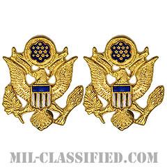 元帥(General of the Army)[カラー/クレスト(Crest・DUI・DI)バッジ/ペア(2個1組)]の画像