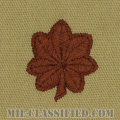 少佐(Major (MAJ))[デザート/階級章/パッチ/ペア(2枚1組)]の画像