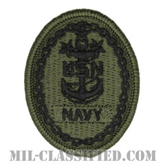 Master Chief Petty Officer of the Navy[NWU Type3(AOR2)用/メロウエッジ/パッチ]の画像