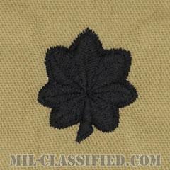 中佐(Lieutenant Colonel (LTC))[デザート/階級章/パッチ/ペア(2枚1組)]の画像