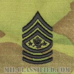 陸軍最先任上級曹長(Sergeant Major of the Army (SMA))[OCP/階級章/キャップ・チェスト用縫い付けパッチ]の画像