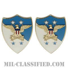 アメリカ統合参謀本部議長付先任下士官顧問(SEAC)[カラー/クレスト(Crest・DUI・DI)バッジ/ペア(2個1組)]の画像