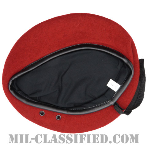 レッドベレー(Red Wool Beret)[ベレー帽/空気穴(アイレット)付/レプリカ]の画像