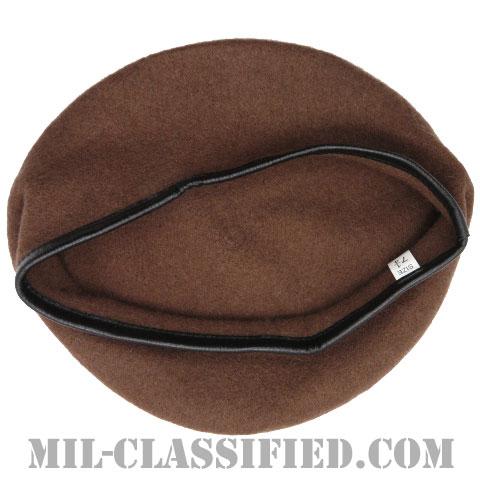 ブラウンベレー(Brown Wool Beret)[ベレー帽/レプリカ]の画像