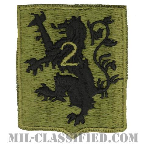 第28歩兵連隊第2大隊(2nd Battalion, 28th Infantry Regiment)[サブデュード/カットエッジ/パッチ/1点物]の画像