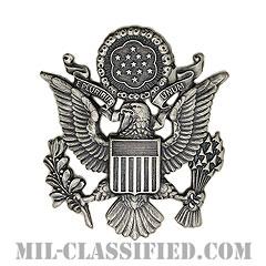 アメリカ空軍制帽用帽章 (将校用・女性用)(Air Force Service Cap Device, Officer, female)[カラー/バッジ]の画像