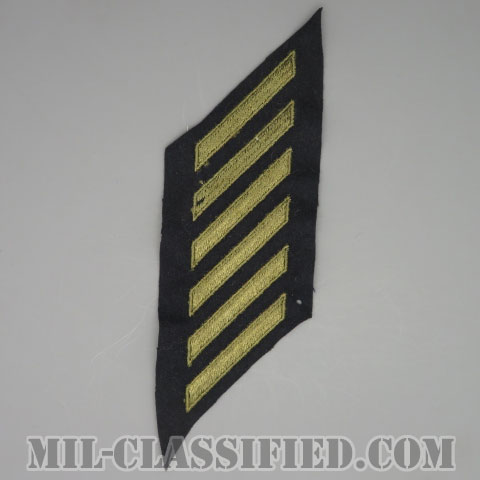 年功章 6連(勤続18年)(Service Stripe)[ウール・フェルト生地/パッチ/1点物]の画像