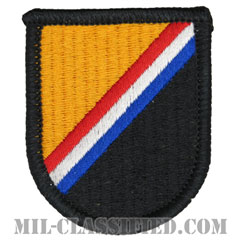 アメリカ特殊作戦軍(U.S. Special Operations Command (USSOCOM))[カラー/メロウエッジ/ベレーフラッシュパッチ]の画像