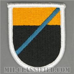 第312軍事情報大隊長距離監視分遣隊(LRSD, 312th Military Intelligence Battalion)[カラー/メロウエッジ/ベレーフラッシュパッチ]の画像