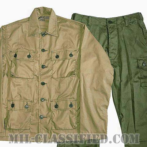 米軍 CISO ライトウエイト カーキジャケット・ODパンツセット US-M [レプリカ]の画像