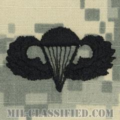 空挺章 (ベーシック)(Parachutist Badge, Basic)[UCP(ACU)/パッチ]の画像