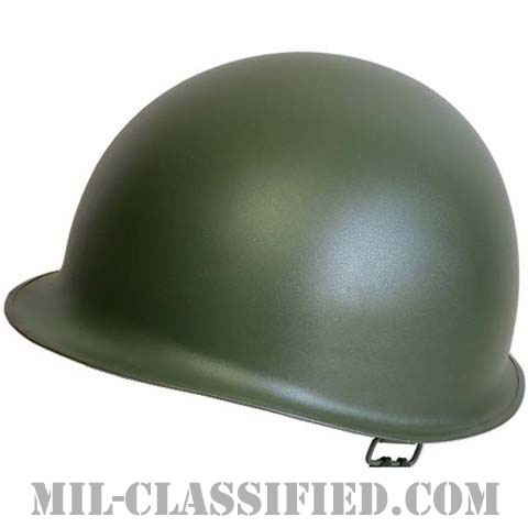 米軍 M1 ヘルメット (スチールシェル+プラライナー) セット [レプリカ]の画像
