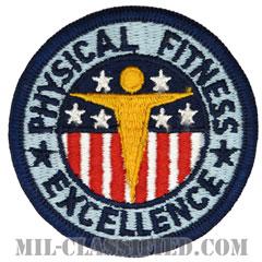 基礎体力章(Physical Fitness Badge)[カラー/メロウエッジ/パッチ]の画像