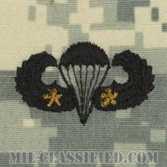 戦闘空挺章 (ベーシック) 降下2回(Combat Parachutist Badge, Basic, Two Jump)[UCP(ACU)/パッチ]の画像