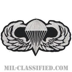 空挺章(Parachutist Badge)[カラー/カットエッジ/パッチ]の画像
