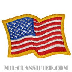 星条旗(アメリカ合衆国・国旗)(USA Flag)[カラー/カットエッジ/パッチ]の画像
