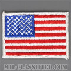 星条旗(アメリカ合衆国・国旗)(USA Flag)[カラー/メロウエッジ/パッチ]の画像