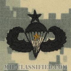戦闘空挺章 (シニア) 降下1回(Combat Parachutist Badge, Senior, One Jump)[UCP(ACU)/パッチ]の画像
