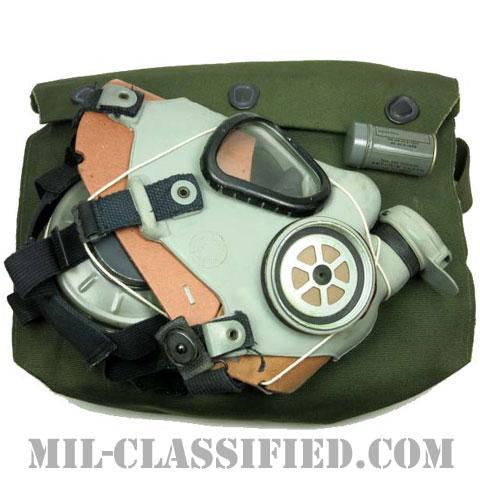 米軍 M9 ガスマスク Sサイズ 1950年ロット バッグ・フィルター・曇り止めセットの画像