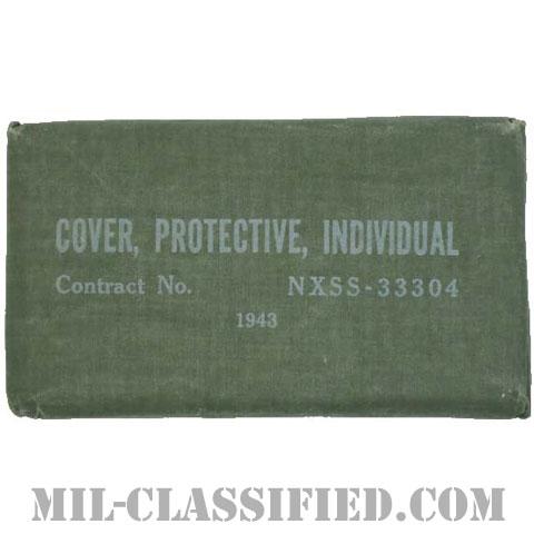 米軍 INDIVIDUAL PROTECTIVE COVER (個人用防ガスカバー) 1943年ロットの画像