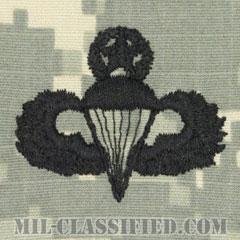 空挺章 (マスター)(Parachutist Badge, Master, Master)[UCP(ACU)/パッチ]の画像