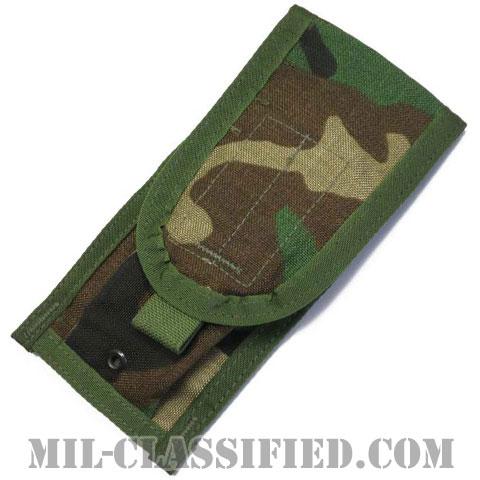 米軍 (MOLLE II) ウッドランド M4 30連マガジン用 TWO(ダブル)マガジンポーチの画像