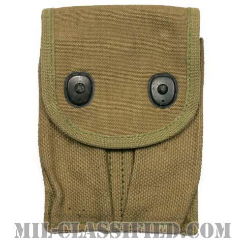 米軍 M1918 M1911/M1911A1(ガバメント)用 カーキ マガジンポーチ [1点物]の画像