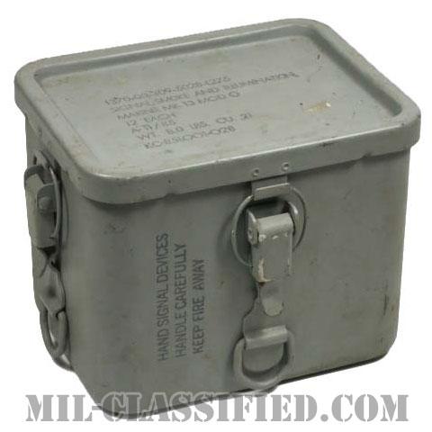 米軍 MK13 MOD 0 シグナルスモークイルミネーション ケース [中古1点物]の画像