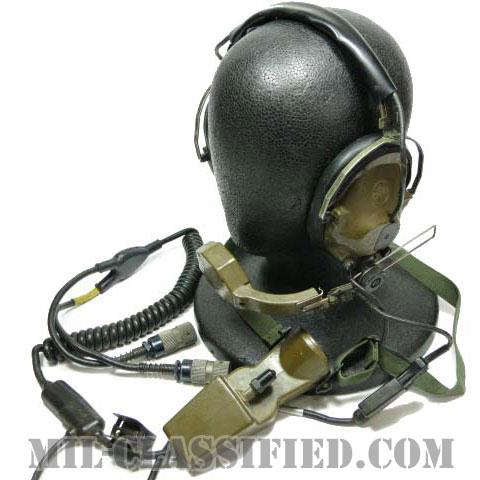 米軍 H-161A ヘッドセット マイク・チェストスイッチ付 [中古1点物]の画像