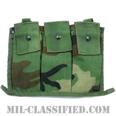 米軍 MOLLE ウッドランド M16A2 30連マガジン用 6マガジンバンダリアの画像