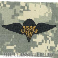 パラシュート整備士 (パラシュートリガー)(Parachute Rigger Badge)[UCP(ACU)/パッチ]の画像