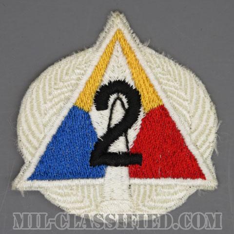 第3機甲師団第2旅団(2nd Brigade, 3rd Armored Division)[カラー/カットエッジ/パッチ/1点物]の画像