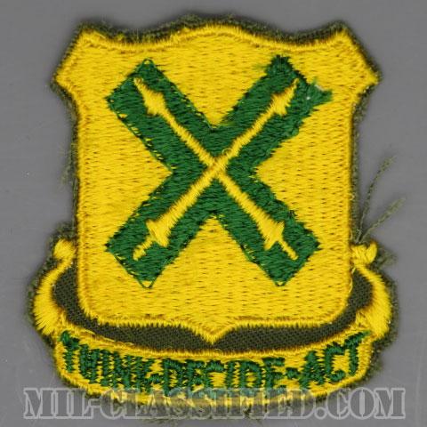 第215戦車大隊(215th Tank Battalion)[カラー/カットエッジ/パッチ/1点物]の画像