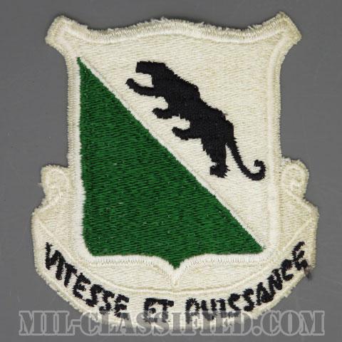 第69機甲連隊(69th Armor Regiment)[カラー/カットエッジ/パッチ/1点物]の画像