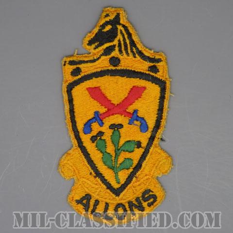 第11機甲騎兵連隊(11th Armored Cavalry Regiment)[カラー/カットエッジ/パッチ/中古1点物]の画像