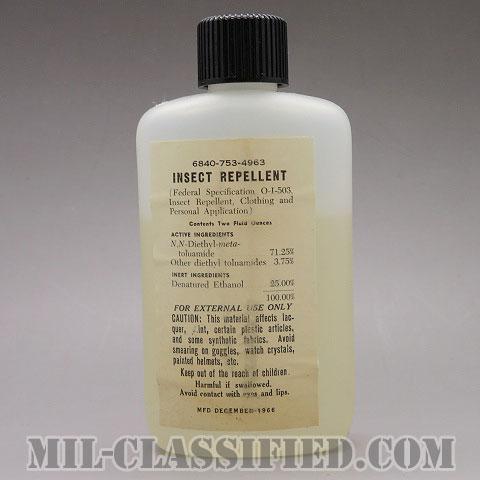 米軍 インセクト リペレント (虫除け剤) 1966年ロットの画像