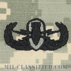 爆破物処理章 (ベーシック) (Explosive Ordnance Disposal (EOD), Badge, Basic)[UCP(ACU)/パッチ]の画像