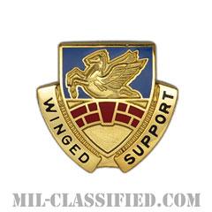 第104航空連隊(104th Aviation Regiment)[カラー/クレスト(Crest・DUI・DI)バッジ]の画像