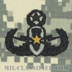 爆破物処理章 (マスター) (Explosive Ordnance Disposal (EOD), Badge, Master)[UCP(ACU)/パッチ]の画像