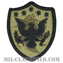 アメリカ北方軍(Northern Command)[OCP/メロウエッジ/ベルクロ付パッチ]の画像