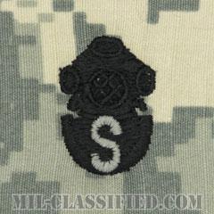 回収潜水員章(Diver Badge, Salvage)[UCP(ACU)/パッチ]の画像
